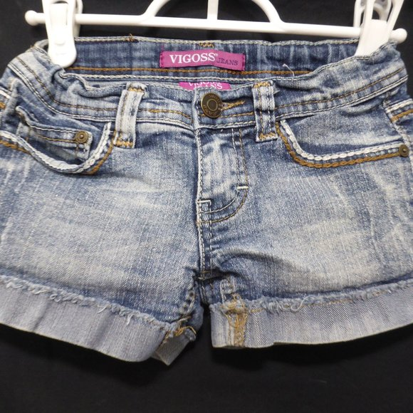 VIGOSE JEANS, size 7, denim jean shorts, BNWOT
